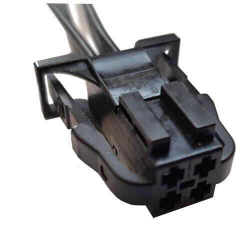 Stecker 4-polig Reparatursatz für VW 3B0972722 Skoda Seat Audi weiblich Kabel