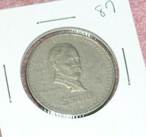 1987 Mexican 500 Coin Foreign World Mexico Ebay