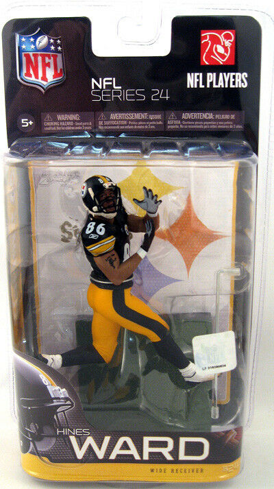 NFL Series 24 Hines Ward 3 6in Action Figure McFarlane Toys