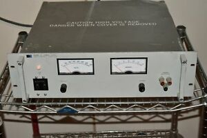HEWLETT PACKARD 6448B DC POWER SUPPLY 0-600V 0-1.5A (MQ10)