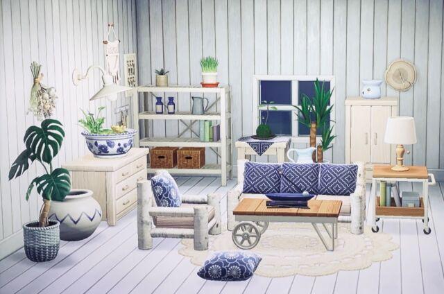 Animal Crossing New Horizons Deluxe Rustic Boho Chic ... on Animal Crossing New Horizons Living Room  id=56248