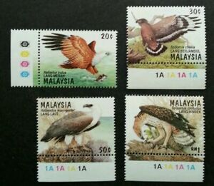 SJ-Birds-Of-Prey-Of-Malaysia-1996-Hawk-Animal-Eagle-Wildlife-stamp-color-MNH