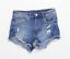 Womens-H-amp-M-Blue-Denim-Shorts-Size-10-L3 thumbnail 1
