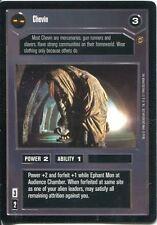 Star Wars CCG Jabbas Palace Card Chevin