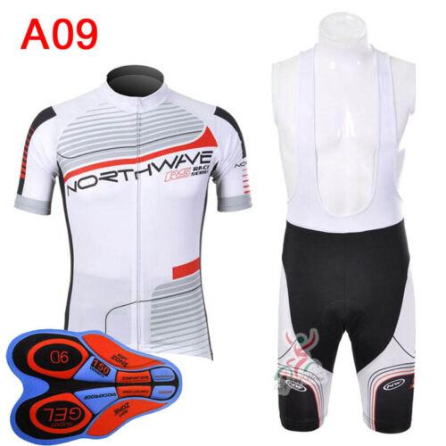 Men short sleeve bib shorts cycling quick dry sports jersey sets full zip S074
