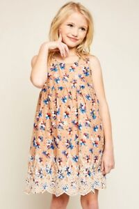 289564fbe972 Hayden Los Angeles Floral Print Baby Doll Dress With Eyelet Lace ...