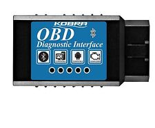 KOBRA OBDII OBD2 Bluetooth Auto Diagnostic Scanner and Car Scan Tool - Wireless