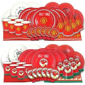 42-Piece-Official-Football-Complete-Party-Boxes-MUFC-LFC-6-People-Pack-Birthday