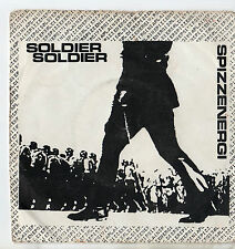 "Spizzenergi - Soldier Soldier 7"" Single 1979 / Spizz"
