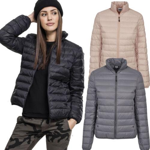 Urban Classics Damen Basic Jacke Daunenjacke Steppjacke Winterjacke Kapuze