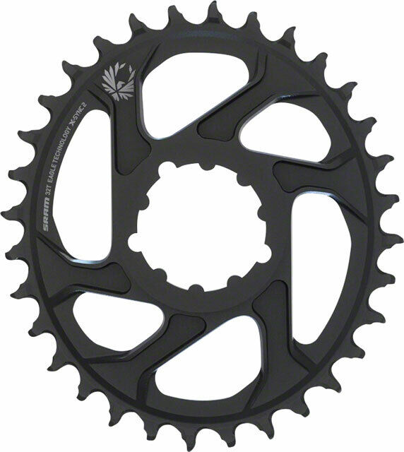 SRAM Eagle Chainring X-sync 2 Oval 32t Direct Mount 6mm Offset Black for sale online