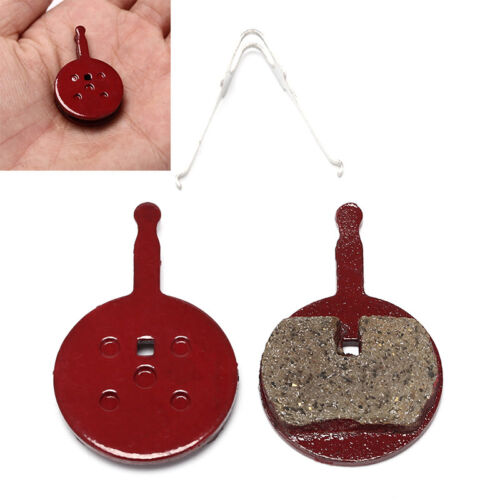 1 Pair Mountain Bike Bicycle Semi-Metallic Red Brake Pads for BB5 CNHN