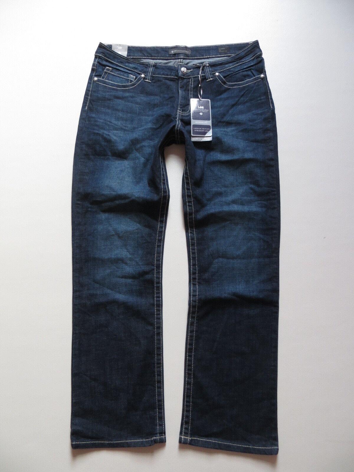 Lee platinum label Damen Jeans Hose W 36  L 30 NEU   Straight Stretch Denim