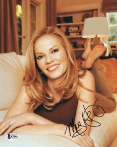 MARG-HELGENBERGER-SIGNED-AUTOGRAPHED-8x10-PHOTO-VERY-PRETTY-CSI-BECKETT-BAS