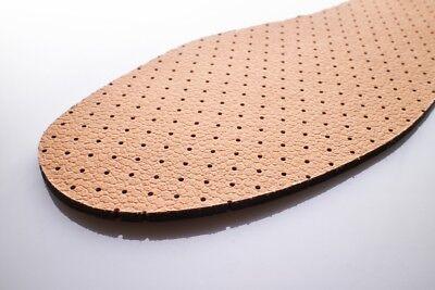 Cuero Natural De Zapatos Plantillas Unisex Carbón Activo Original Suela Interior Botas 092