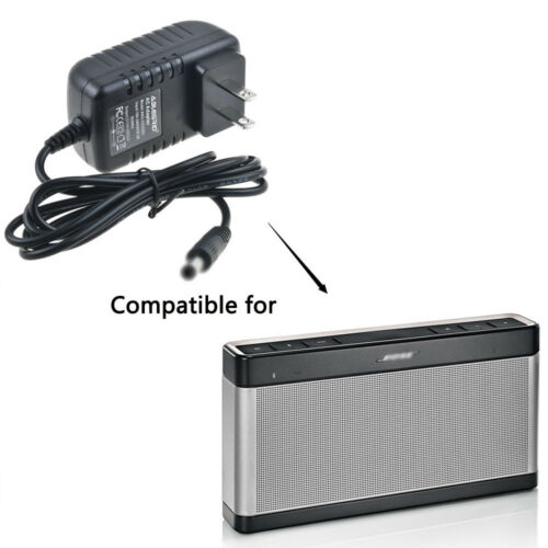 AC DC Adapter for//Bose Soundlink Wireless Speaker III 3 369946-1300 Power