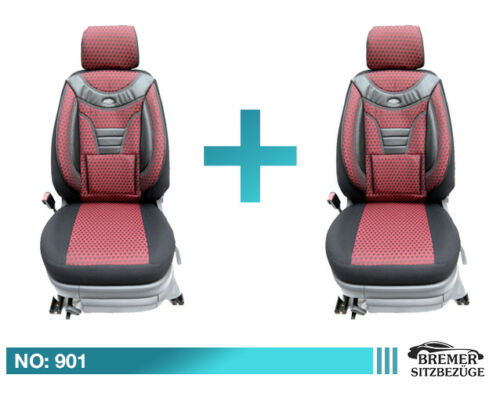 Fiat Doblo II ab 2010  Schonbezüge Sitzbezug Sitzbezüge Fahrer /& Beifahrer 901