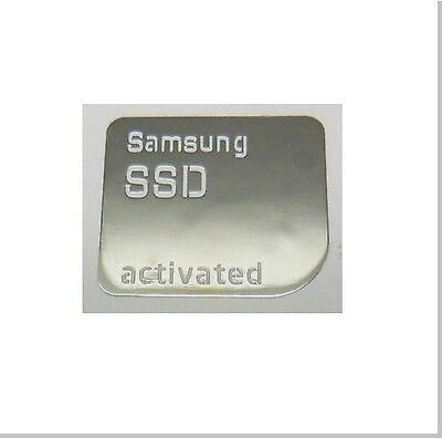 10 Xsilver Samsung Ssd Attivato Adesivo 7 10 8 Finestrini Universale Laptop Sata Iii-mostra Il Titolo Originale