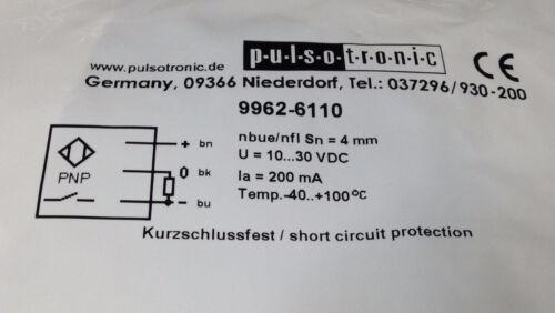 PULSOTRONIC Reflextaster Typ 9962-6110 Nährungsschalter