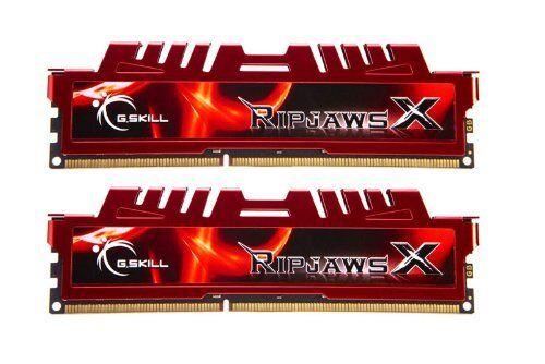G.Skill Ripjaws X Series 16 GB 2 x 8 GB 240-Pin DDR3 SDRAM Desktop Memory 1600