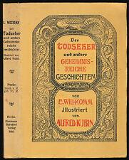 Alfred Kubin – Ernst Willkomm: Der Todseher (1910)