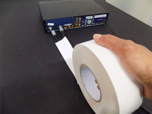 Strong WOD Gaffer Burgundy Tape 1 inch x 60 yards No Residue LOW GLOSS FILM
