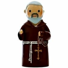 """St. Padre Pio Patron of Adolescents """"Little Drops Of Water"""" Statue Figure NEW"""