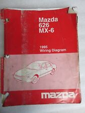 Mazda 626 Mx6 Gd Wiring Diagrams 09 1991 Factory Manual Supplement For Sale Online Ebay
