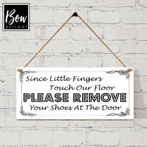 G029 les petits doigts toucher notre étage-supprimez chaussures signe