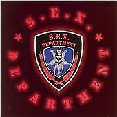 "S.E.X. DEPARTMENT -"" Sex Department""- Glam Metal- Brand New Original 2007 CD"