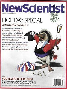 New-Scientist-Magazine-Holiday-Special-Mistletoe-Secret-Ice-Ships-Animals-2013