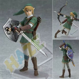 The-Legend-of-Zelda-Link-Figma-320-Accion-Figura-Estatua-14cm-Juguete