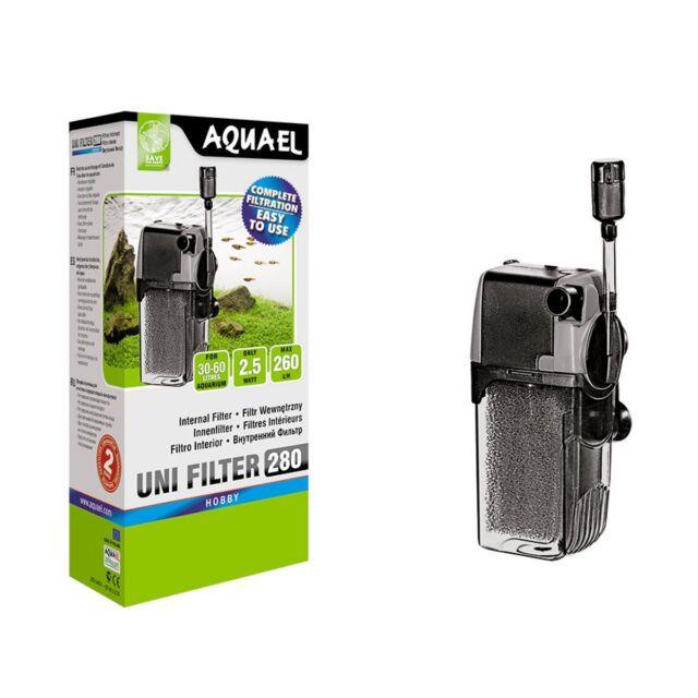 Aquael Innenfilter UNIFILTER 280 - Nanofilter Filter Aquarienfilter Wasserpflege
