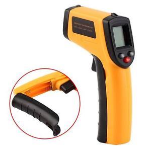 Temp-Meter-Temperature-Gun-Non-contact-Digital-Laser-Infrared-IR-Thermometer-PH