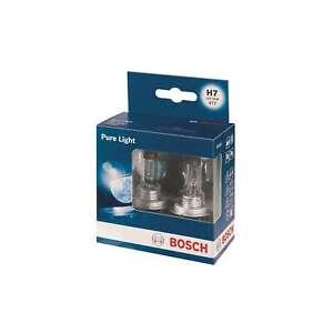 BOSCH-Pure-Light-499-H7-12V-55W-PX26D-HEADLIGHT-Bulbs-x2