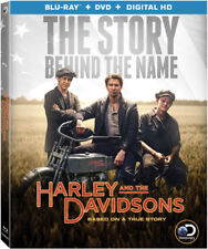 Harley and the Davidsons (Blu-ray/DVD, 2016, 4-Disc Set)