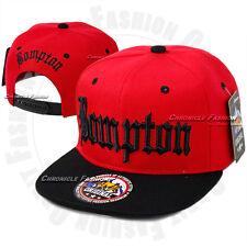 3407c6e9a0a30 BOMPTON Baseball Snapback Cap Hat Compton YG Hip Hop 3D Embroidery Flat  Bill New