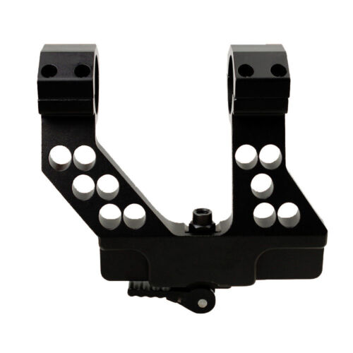 Tactical Scope Mount Side Rail Scope Railway Quick Release 1 Inch//30mm Ring