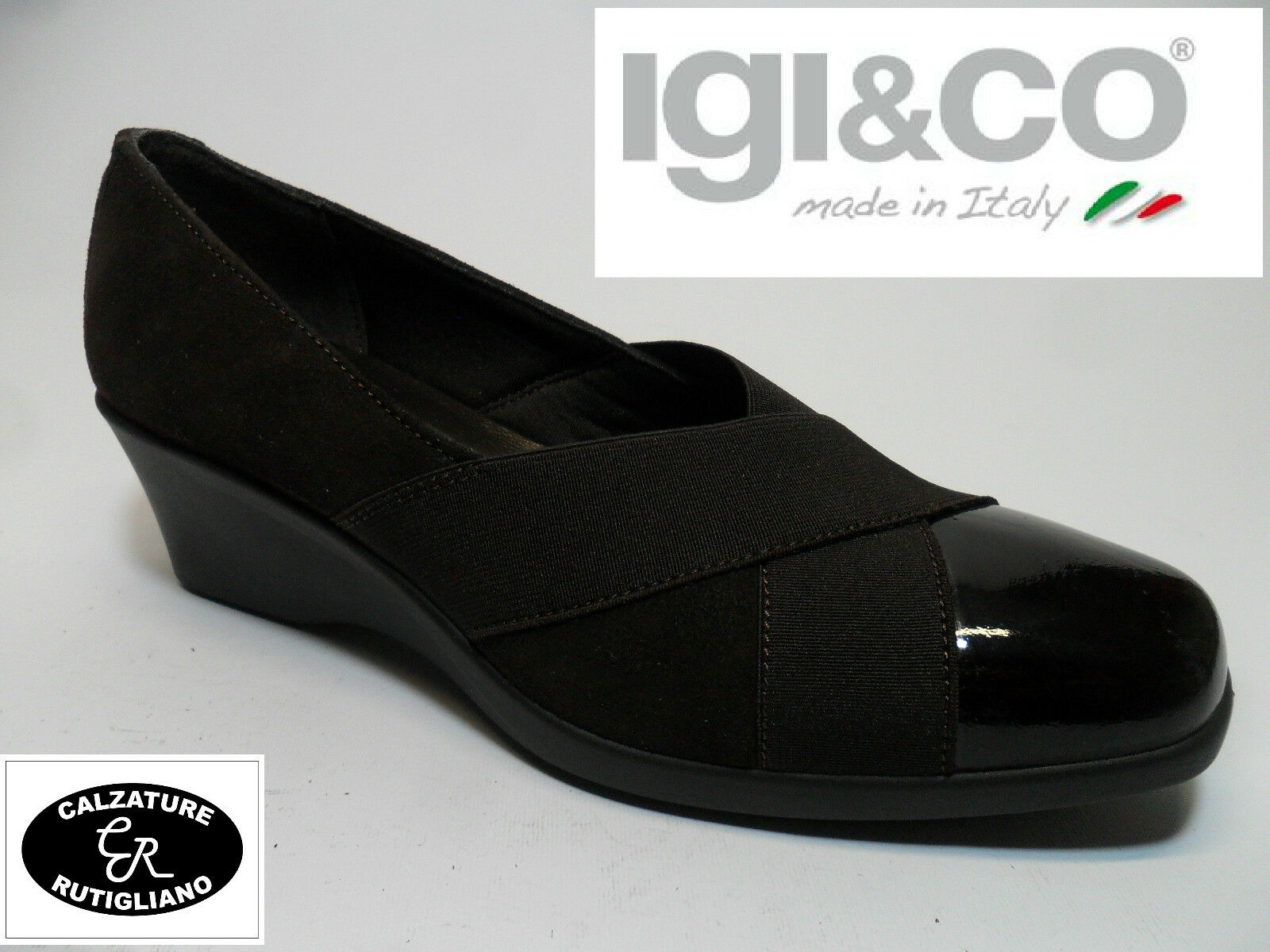 IGI & CO art.27981 zapatos mujer MODELLO MODELLO MODELLO DECOLLETE' CAMOSCIO marrón N.38 dfc08a