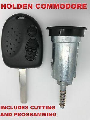 Holden Commodore Remote Car Key + HOLDEN IGNITION Barrel VS VR VT VY VZ WK WL
