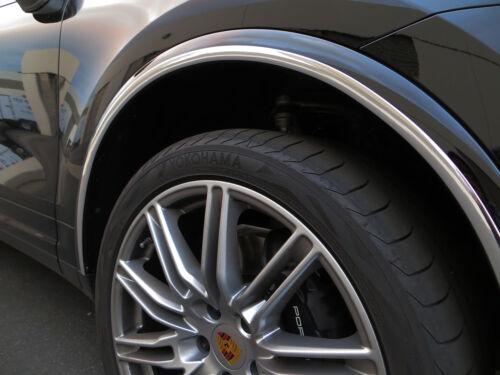 NEW 4PCS CHROME WHEEL WELL FENDER TRIM MOLDING GUARD KIT for ford10-13