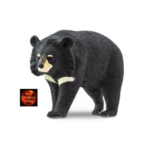 COLLARE Moon Bear Orso Fauna Selvatica Giocattolo Modellino Da Safari Ltd 100044 Nuovo di Zecca