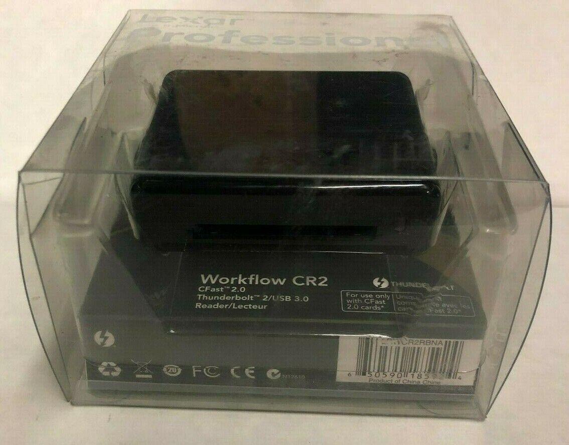 Lexar Professional Workflow CR1 CFast 2.0 USB 3.0 Card Reader #LRWCR1TBNA