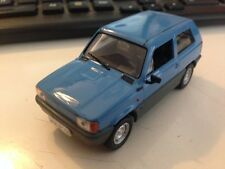 1/43 Fiat Panda 1st series Deagostini Poland Warsaw