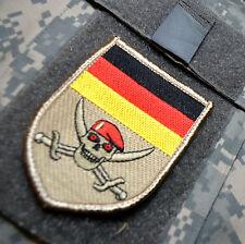 Kommando Spezialkräfte KSK SP CMD DSO SSI: DEUTSCHE RED BERET CALICO JACK SKULL