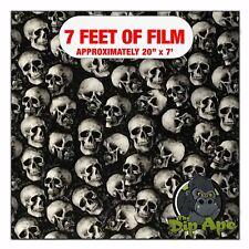 Hydrographic Film Black Eyed Mini Skulls Camo Hydro Dipping 7 X 20 Hydro Dip