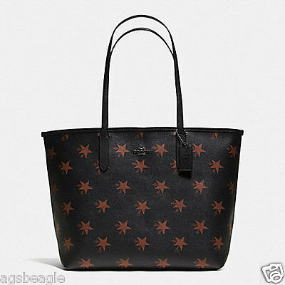 Coach Bag F35917 Coach Star City Tote Brown Multi by Agsbeagle COD