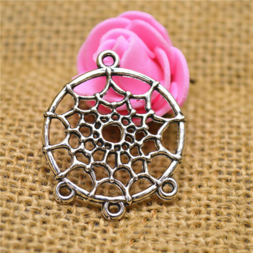 New 10pcs Alloy Dream Catcher Charm Pendant Jewelry Finding Hot