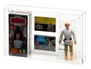 GW-Acrylic-Display-Case-Japanese-POPY-Boxed-Vintage-Star-Wars-ESB-Figure-AMC003