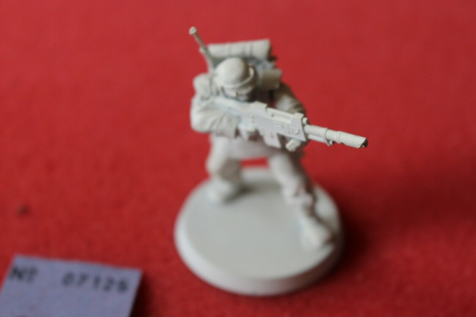 Games Games Games Workshop 54mm Cadian Imperial Guard Conversion Metal Imperial Figure OOP b6e